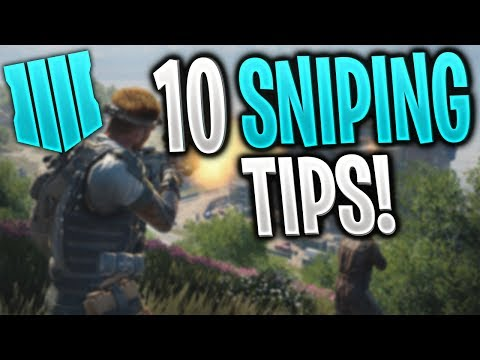 10 TIPS to GET BETTER AT SNIPING in BLACK OPS 4 | BO4 Sniping Tips and Tricks #2