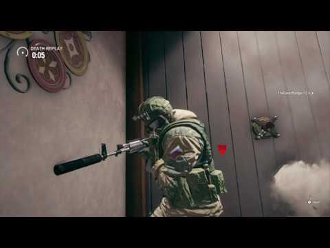 Pelu explosive moment in Siege