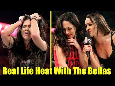 5 Wrestlers That Have REAL LIFE HEAT With THE BELLA TWINS! - AJ Lee & More!