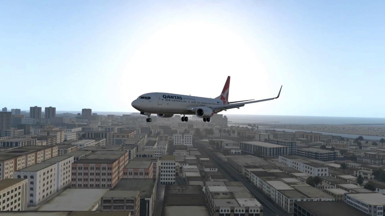 X-Plane 11 Beta - A quick Test of a Converted Fly Tampa Dubai Scenery by  Clarence Boudville