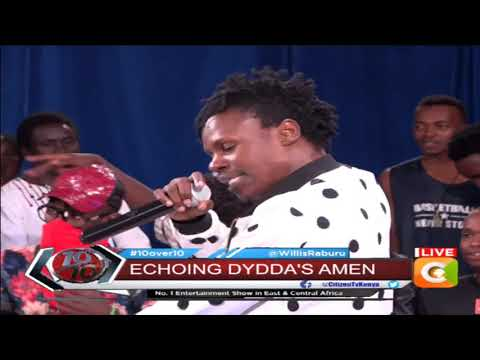 Eko Dydda performing Brand New Song 'Amen' Live #10Over10