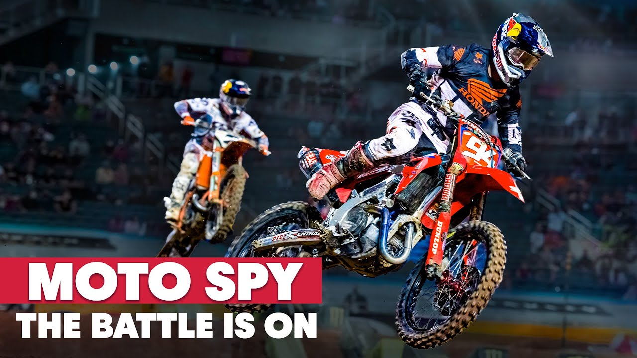 Can Cooper Catch Kenny? |  Moto Spy Supercross S5E3
