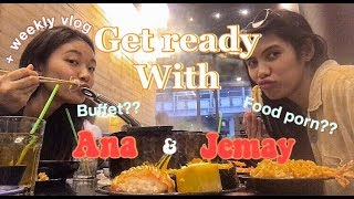 """Jemay and Ana - Vlog #2 """"FOOD PORN DATE"""""""