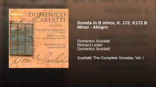 Sonata in B minor, K. 172: K172 B Minor - Allegro
