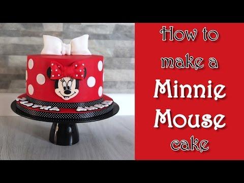 How to make a Minnie Mouse cake / Jak zrobić tort z myszką Minnie