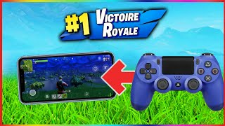 TUTO : JOUER À LA MANETTE SUR FORTNITE MOBILE IOS/ANDROID (using a controller on fortnite mobile)