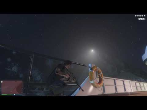 Chopper strikes yacht during crash