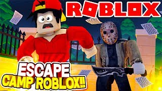 ROBLOX Adventure - MY CAMPING TRIP GO'S HORRIBLY WRONG!!!