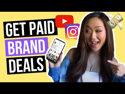 How to Get PAID Brand Deals in 2020 (For SMALL Influencers!)