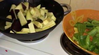 Рецепт как приготовить баклажаны китайская кухня  茄子在糖醋酱里 - Cianci