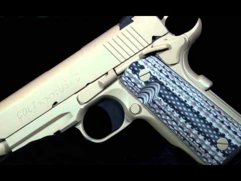 American Rifleman Television - Colt Marine Pistol Review