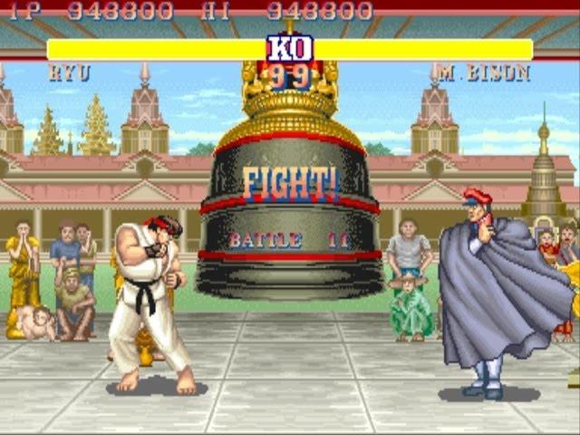 Street Fighter II: The World Warrior (Video Game)