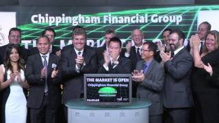 Chippingham Financial Group opens Toronto Stock Exchange, September 25, 2013.