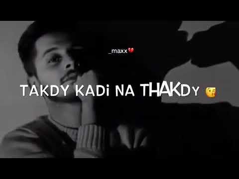 ak bewafa nu aj takya ty yad teri ai latest punjabi song