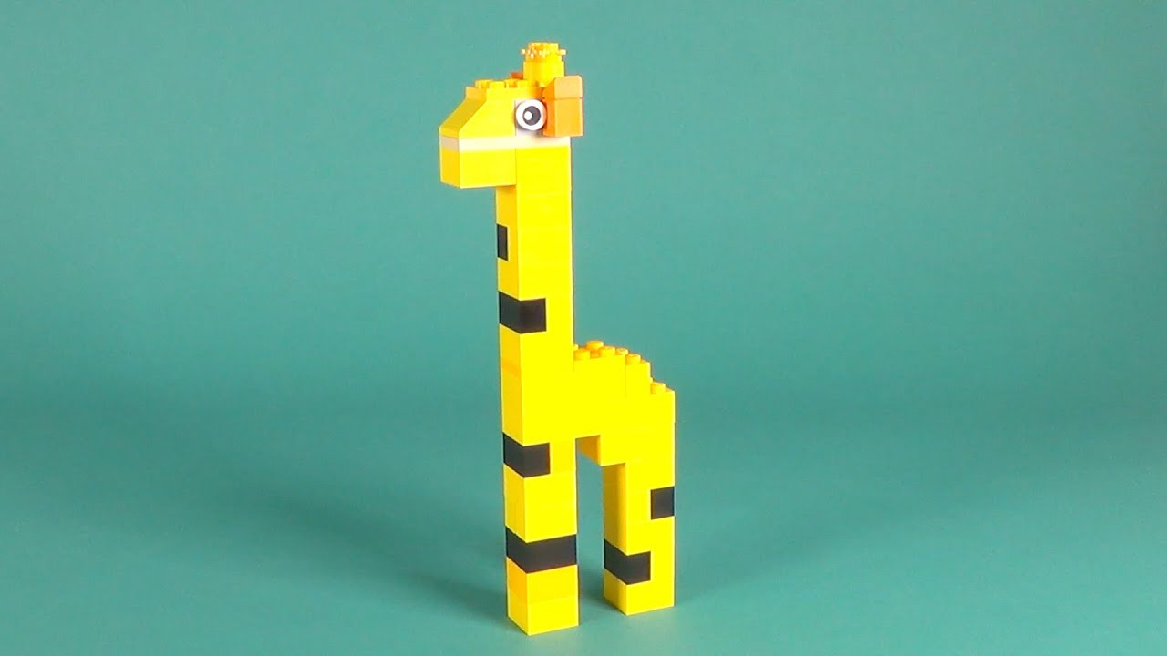 Lego Giraffe Building Instructions Lego Classic 10697 How To