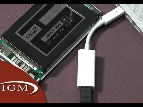 Apple Thunderbolt to FireWire Adapter - YouTube