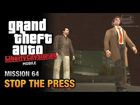 GTA Liberty City Stories Mobile - Mission #64 - Stop the Press