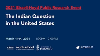 """2021 Bissell-Heyd Public Research Event 