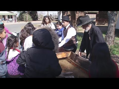 Students attend California History Day at the Kern County Museum