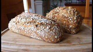 NoKnead Multigrain Whole Wheat Bread… super easy… no machines (updated)