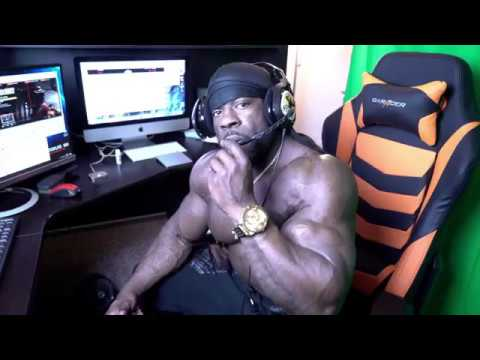 Kali Muscle Gaming Setup + Room Tour (2017)