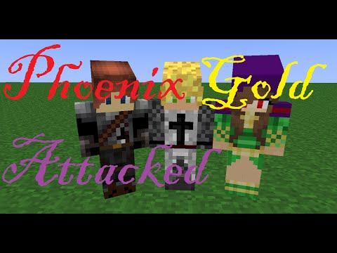 (Minecraft Role Play Phoenix Gold) Episode 44 - Attacked