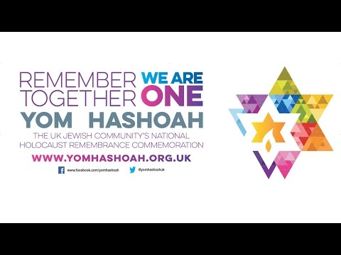 Yom HaShoah UK National Commemoration 2017