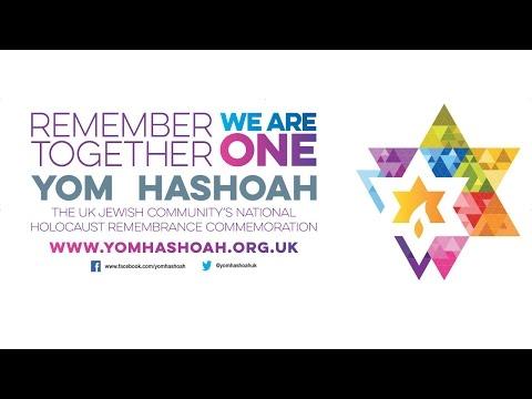 Yom HaShoah UK National Commemoration 2017