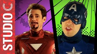 marvels avengers age of ultron music video parody ft peter hollens