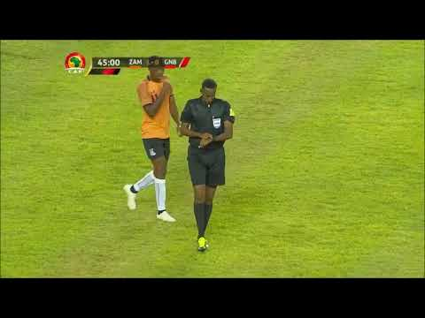 Zambia 2-1 Guinea Bissau Highlights AFCON Qualifiers 2018