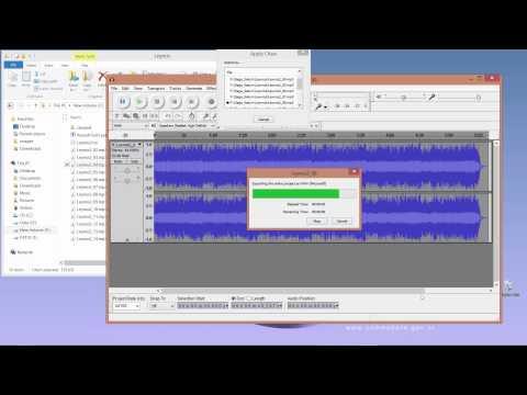 Audacity ile  wav dönüşümü ve Sega Cue Maker - YouTube
