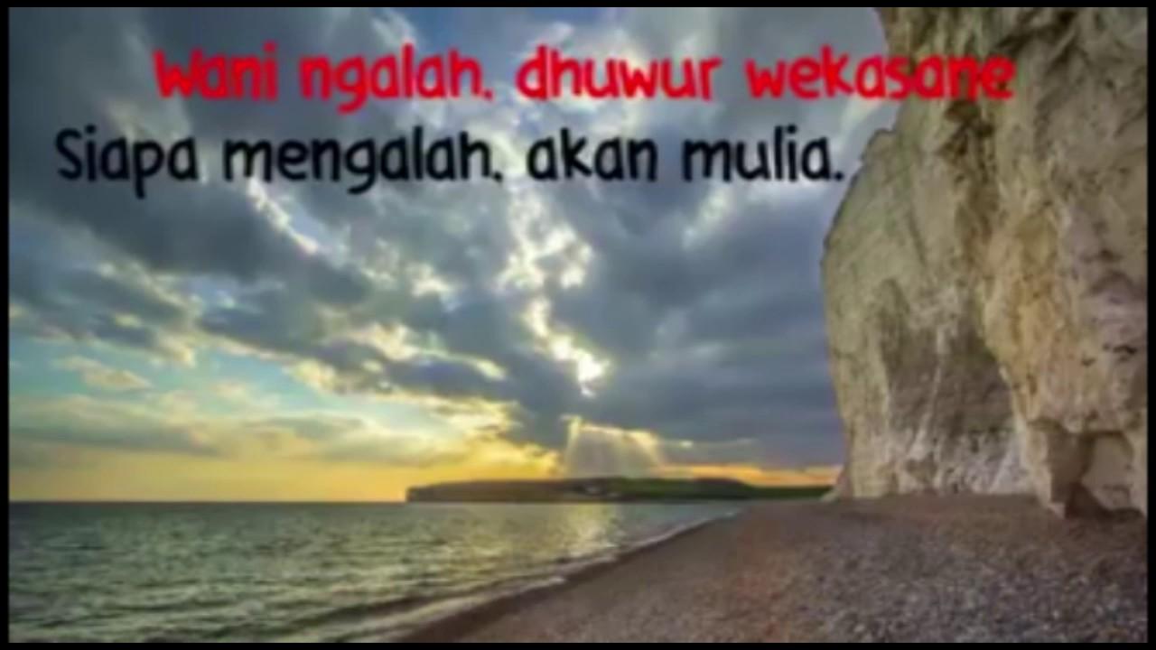 8 Filosofi Orang Jawa Tentang Hidup Youtube