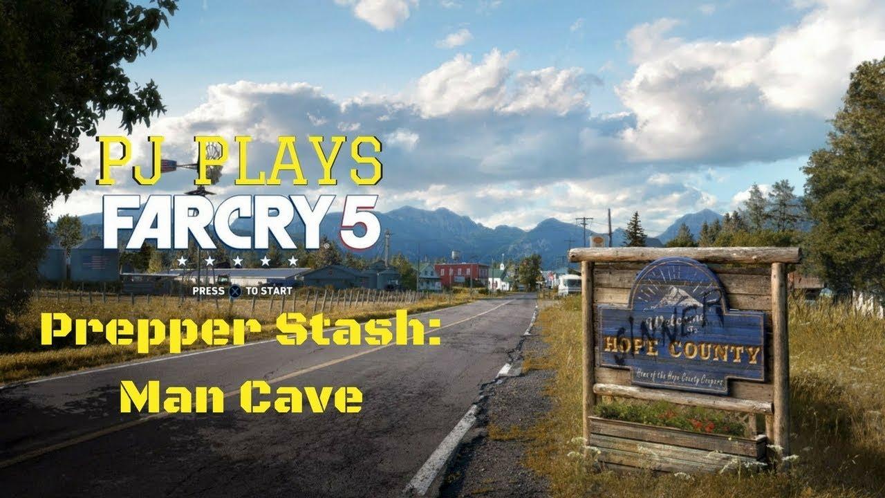 Man Cave Far Cry 5 Walkthrough : Far cry prepper stash man cave youtube