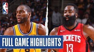 Warriors At Rockets | Full Game Highlights | November 6, 2019
