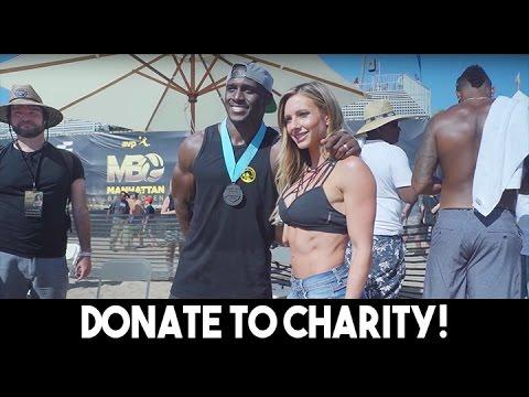 Warehouse Visit & Reggie Bush Charity Event!