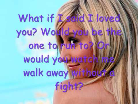 What If- Ashley Tisdale