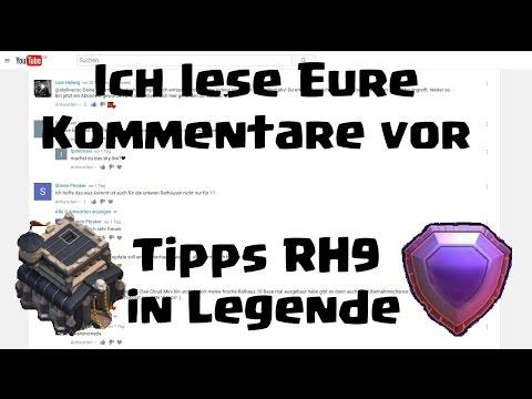 [254] Rh9 auf Rh11 Eure Fights | Tipps als Rh9 in Legende | Ich lese Eure Kommentare | COC Deutsch