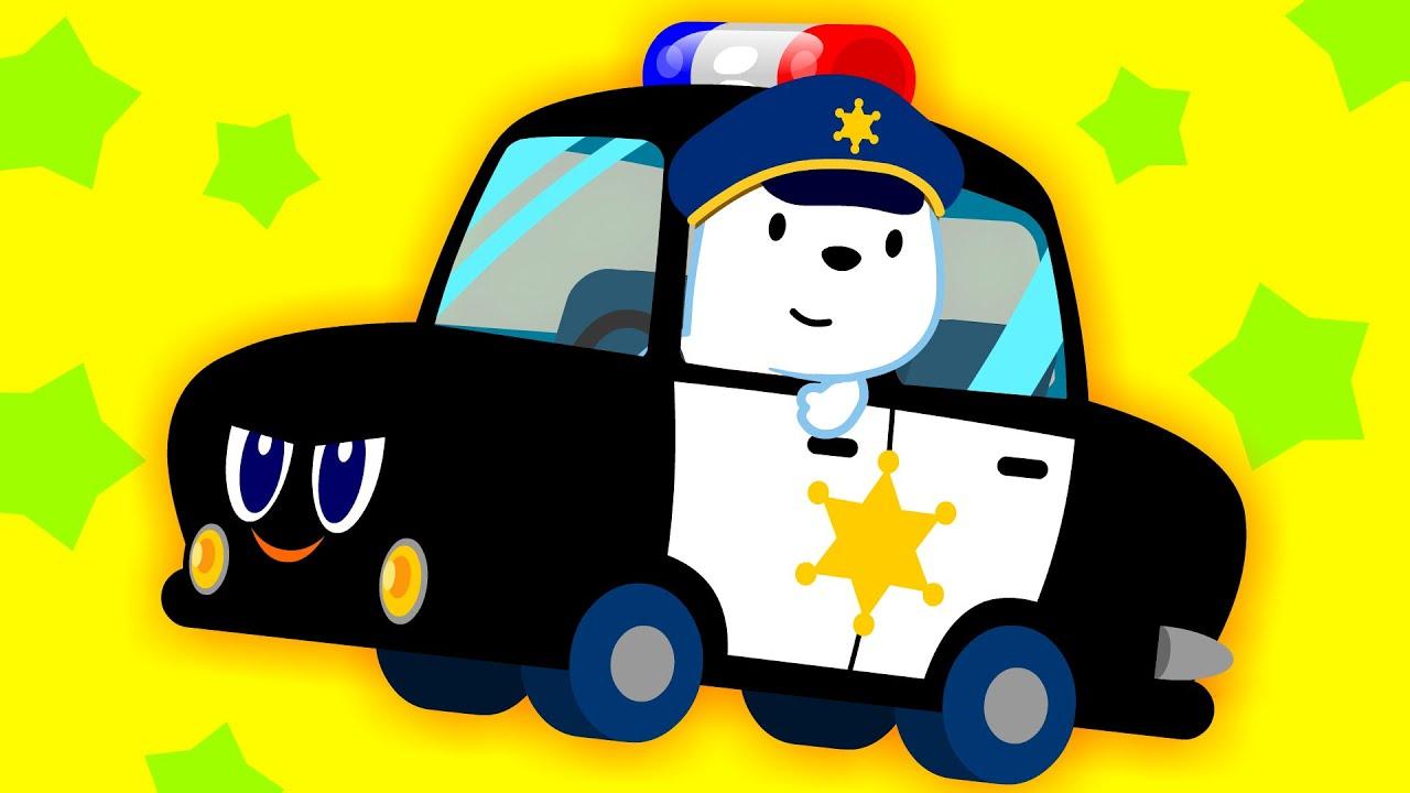 [스토리동요] 경찰차가 최고야 ♪ | 삐용삐용~ 멋쟁이 해결사 경찰차! 🚔 | 인기동요 | 인기놀이 | 자동차동요 | 티디키즈★지니키즈