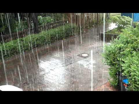 Summer Rain 2014 in Germany / Sommer Regen 2014 in Deutschland (23.07.2014)