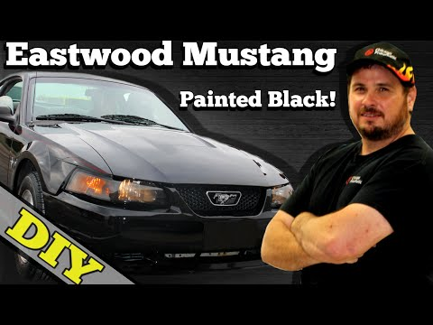 Painting Car Black (Primer Sealer and Base Coat) Eastwood Mustang Project
