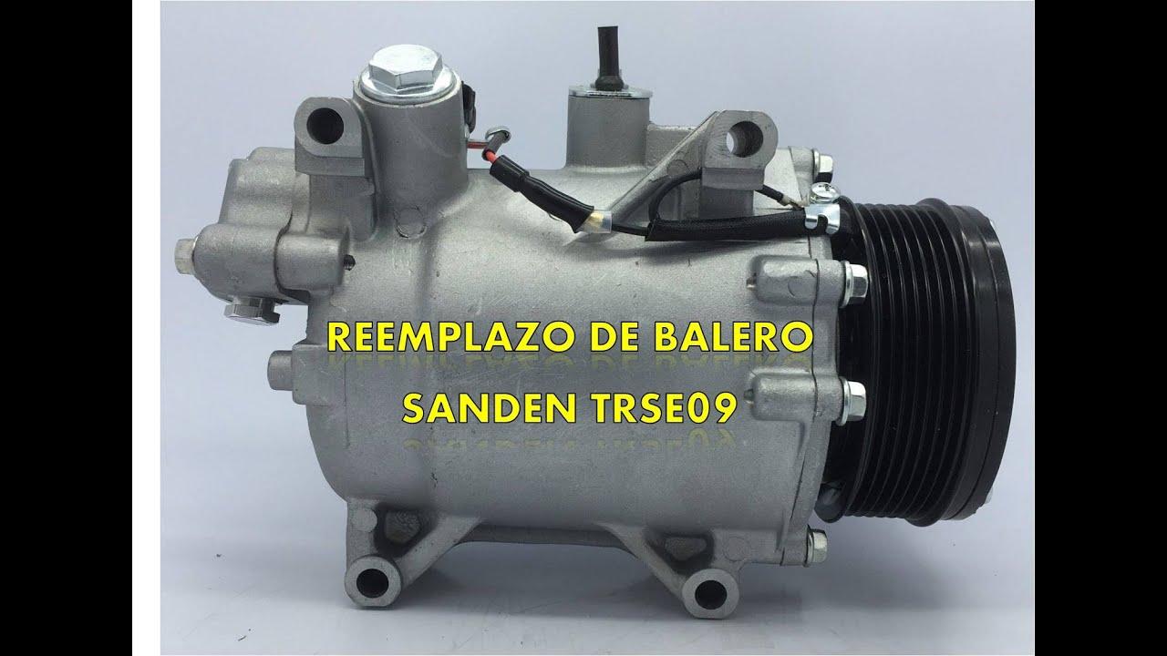 Reemplazo de balero rodamiento compresor de aire acondi for Compresor de aire acondicionado