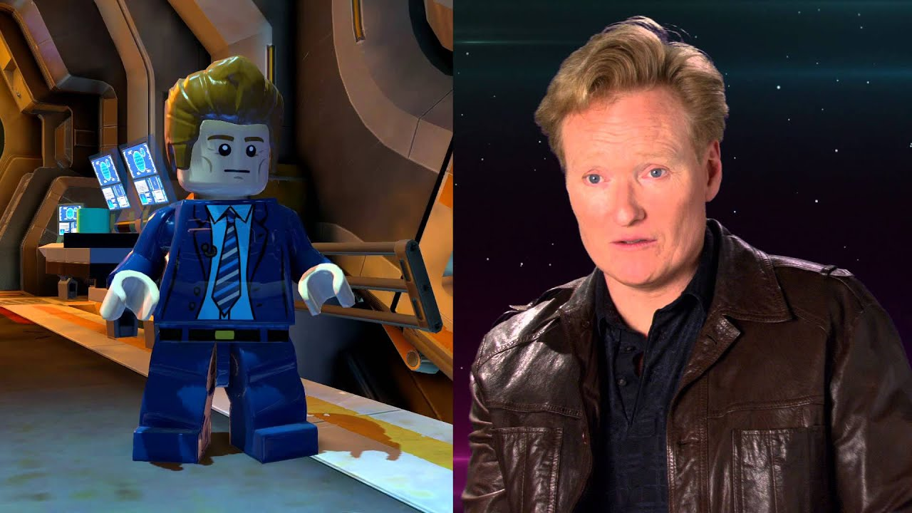Behind the Scenes with Stephen Amell, Kevin Smith, and Conan O'Brien - LEGO Batman 3 - YouTube