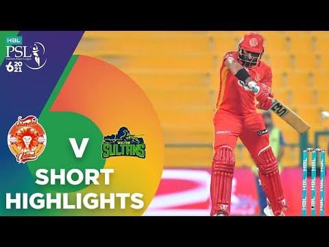 Short Highlights | Multan Sultans vs Islamabad United | Match 30 | HBL PSL 6 | MG2T