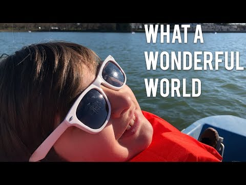 What A Wonderful World - Riding in my Yacht  -  Washington D.C | Kid being a Kid Life is Beautiful