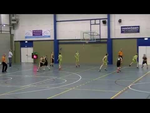 Basketball Den Helder Noordkop-Wildcats Nijmegen U14  12-04-15