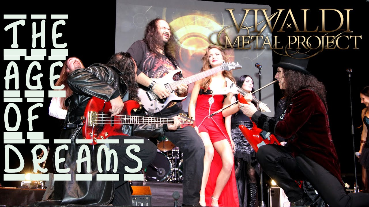 """New Official Video - """"The Age Of Dreams"""" Live in Avezzano (Italy) 2018"""