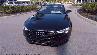 Used 2016 audi a5 premium near fort myers and sanibel
