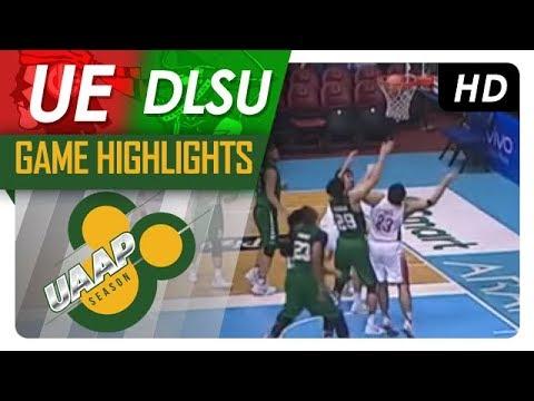 UE vs. DLSU | Game Highlights | UAAP 80 Men's Basketball | October 4, 2017