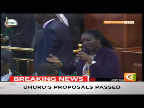 President Uhuru Kenyatta's 8% VAT proposal on fuel passed in Parliament #FinanceBill2018