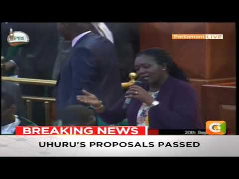 President Uhuru Kenyattas 8% VAT proposal on fuel passed in Parliament #FinanceBill2018